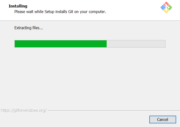 Happy install dialog